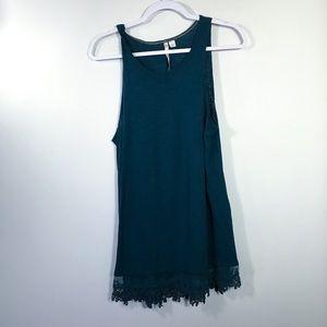 LAUREN CONRAD • Green Tank Dress | L